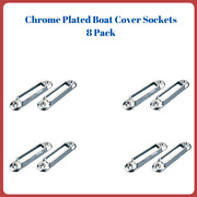 Boat Cover Bow Sockets 8 Pack Four Pairs Seachoice 78011