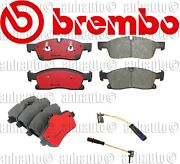 Brembo Front And Rear Brake Pads For Mercedes-benz G Gl Gle Gls Ml