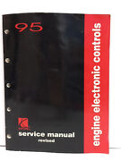 1995 Saturn Engine Electronic Controls Auto Repair Shop Service Manual Revised