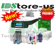 Magicard 600 Dual Side W/ Mag Stripe Complete Id Card Printer System