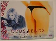 Michelle Mclaughlin Odds And And Ends Butt Card Dreamgirls 4/4 Bench Warmer 2017