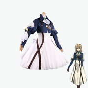 Violet Evergarden Cosplay Dress Anime Auto Doll Halloween Outfit Costume
