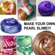 Slime Metallic Glitter Pearl Pigment Powder Various Colours Make Your Own Slime