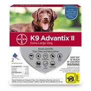 K9 Ii Flea Tick And Mosquito Prevention For Xlarge Dogs Over 55 Lbs