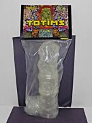 Tim Clarke Totims Crystal Clear Totem Pole Toy Art Gallery New Rare Htf 2013 F