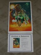 Artist Proof Green Lantern 31 Art Print Sign By Billy Tan And Alex Sinclair 1of1