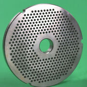 Size 42 X 1/8 Meat Grinder Disc Plate For Cabelas 1 3/4 Hp + Biro Hobart