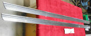 1965 1966 Mustang Fastback Coupe Convertible Nos L+r Rocker Panel Trim Moldings