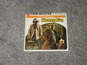 Rare View-master 3 Reels 21 Stereo Photos Cult 1970and039s Abc Tv Series Kung Fu