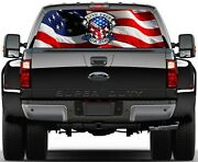 Pick-up Truck Perforated Rear Windows Graphic Decal Pick Your Design