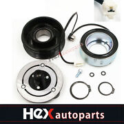 A/c Ac Compressor Clutch Kit -front Plate, Coil, And Bearing For Mazda 3 5