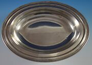 Lord Saybrook By International Sterling Silver Vegetable Bowl Oval X123-1 2719