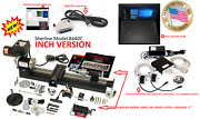 Sherline 8440c 3.5andprime X 17andprime Lathe Cnc System + Package C + Controller + Laptop