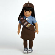 Ava, 18 Girl Scout Brownie Doll By Adora