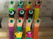 Pez - Psychedelic Eyes Series - Choose Color From Menu- Use For Crafts