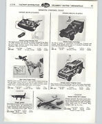 1958 Paper Ad 4 Pg Cragstan Mechanical Toys Bear Mule Helicopter Dc-7 Plane