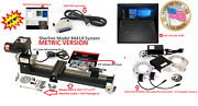 Sherline 8441a 3.5andprime X 17andprime Lathe Cnc System + Package A + Controller + Laptop