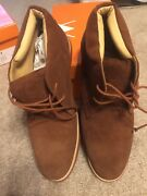 Martin Ding Man Country Wear Lather Men Shoes Size 10.5 Havana Brown
