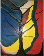 The Tree Of Life Oil Painting Mediums By West Swatti Gallery On Canvas 1620