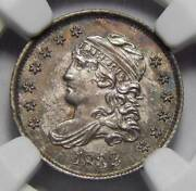 1832 Ngc Ms65 Capped Bust Half Dime