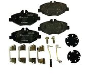 For Benz W210 Front Brake Pad Set And Wear Warning Contact And Caliper Screws Pagid