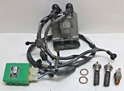 Oem Geuine Yanmar Heater Plug Glow Relay And Controller Kit 119575 77060 And 77071