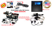 Sherline 8400c 3.5andprime X 8andprime Lathe Cnc System + C Package + Controller + Laptop