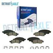 For Buick Enclave Chevy Traverse Acadia Outlook Front And Rear Ceramic Brake Pads