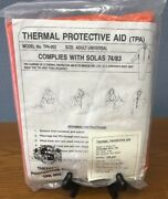 Stearns Thermal Protective Aid For Boat And Life Raft Model No.tpa-002 Solas 74/83