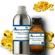 Pure Vitamin And039eand039 Essential Oil D-alpha Tocophero Natural Ayurveda Herbal Aroma