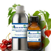 Pure Winter Cherry Essential Oil Withania Somunifera Natural Ayurveda Fragrance