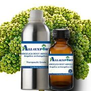 Pure Angelica Root Absolute Angelica Archangelica Natural Ayurveda Herbal Aroma