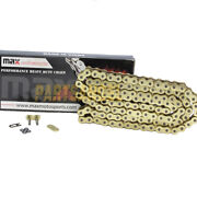 520x150 O-ring Drive Motorcycle Chain With 150 Links For Extended Swingarm Gold