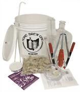 3 Gallon Wine Making Kit - Equipment Only Plastic Carboy