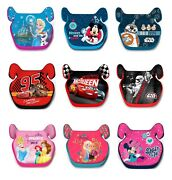 Disney Childs Car Booster Seat Group 2/3 15-36 Kgs Cars Princes Spiderman