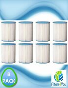 8 Pc Culligan R50-bbsa Level 1 Compatible Heavy Duty Water Filter Cartridges 50m