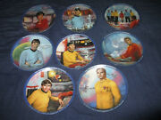 Star Trek - Collector Plates 8 Plates  8 1/2 Collector Plate M-822