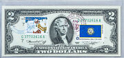 Dollar Bicentennial 1976 2 Us Currency Note Money Stamp New Year Christmas Gift