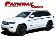 2011-2020 Pathway Sides For Jeep Grand Cherokee Door Stripes Decal Graphics