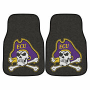 Fanmats Front Vehicle Mats W Official East Carolina University Team Colors And Log