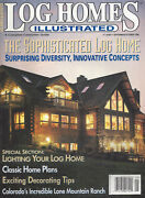 Log Homes Illustrated Sep/oct 1995 The Sophisticated Log Home  F876