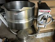 Market Forge Dpt-20 Jacketed Steam Kettle Stainless Steel