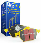 Ebc Yellow Stuff Front Brake Pads For 13-14 Ford Mustang 3.7l A/t W/ Perf Pkg