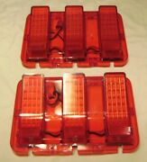 1967-1968 Ford Mustang Led Tail Lights Easy Install Plug And Play 84 Ledand039s