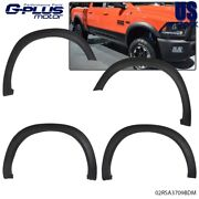 Textured For 2009-2018 Dodge Ram 1500 Factory Style Bolt On Fender Flares