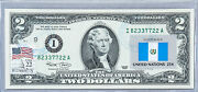 Paper Money Us Two Dollar Note 2 2003 I Currency Collection Gift Flag Guatemala