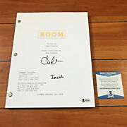Brie Larson And Jacob Tremblay Signed Room Full Page Movie Script Beckett Bas Coa