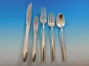 Michele By Wallace Sterling Silver Flatware Set For 6 Service 30 Pieces