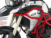 Bmw F800gs Tankguard - Red [see Description] By Hepco And Becker From 2017