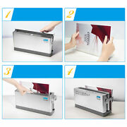 A4 Binding Cover Electric Document Hot-melt Thermal Binder 10 Sheets 110mm